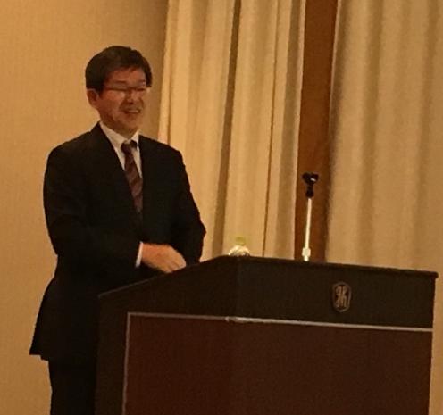 御講演された菊田健一郎教授